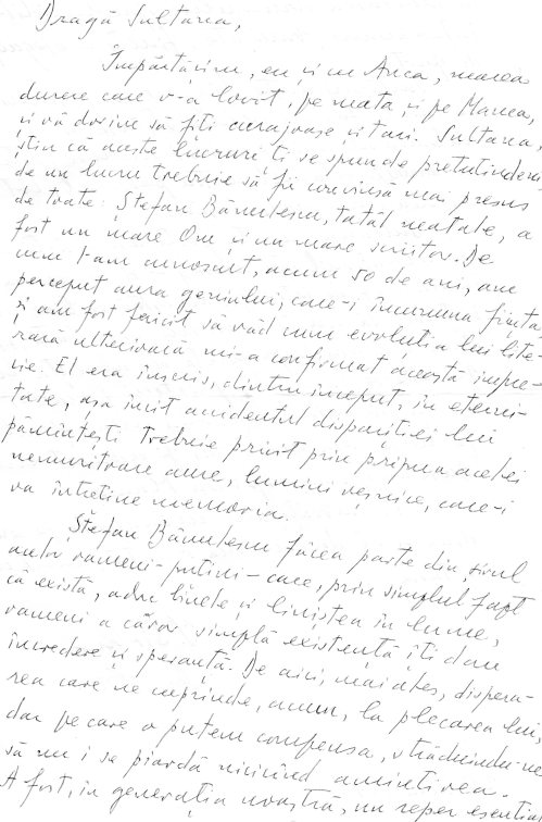 Muzeul scrisorilor Ion Sirbu catre SB p.1 28 mai 1998